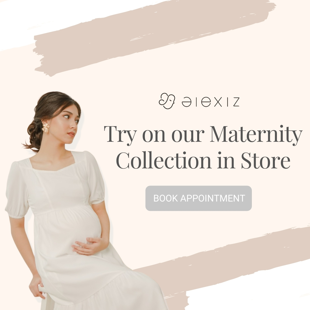 Maternity Try-on Session