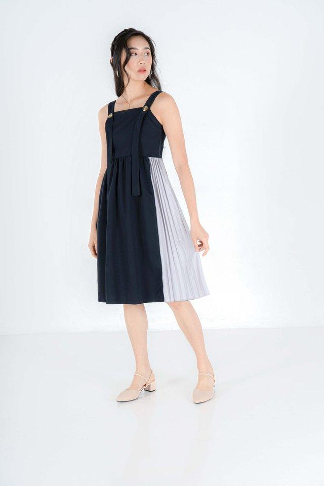 Renee Pinafore Midi Dress