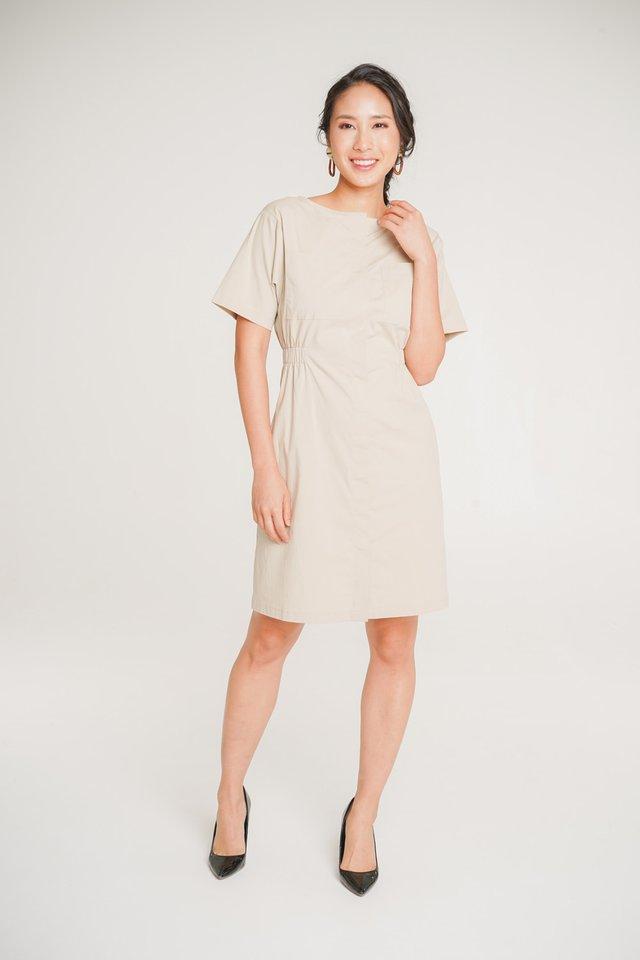 Clara Boxy Midi Dress