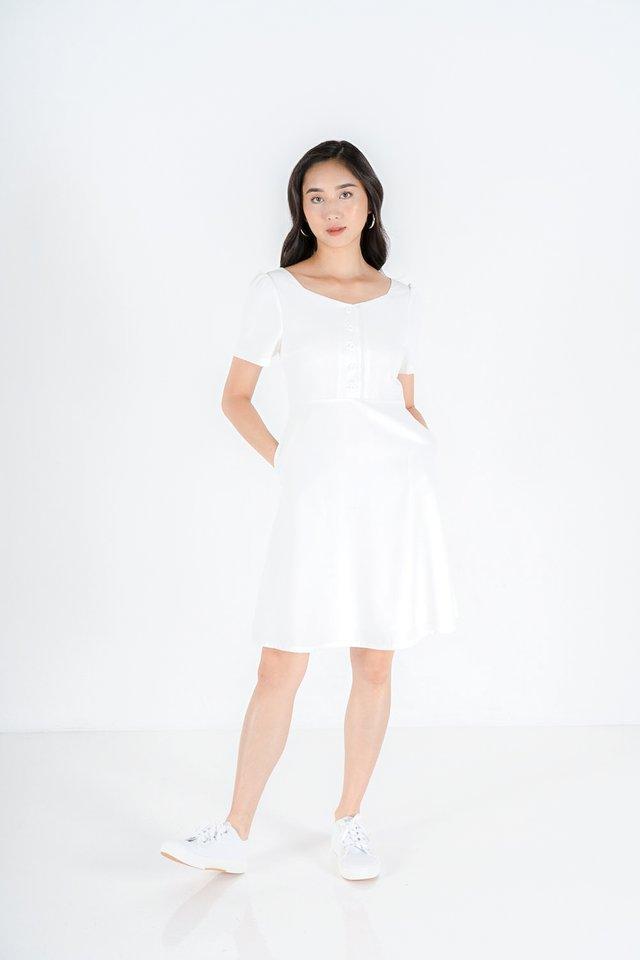 Zoe Button Down Midi Dress