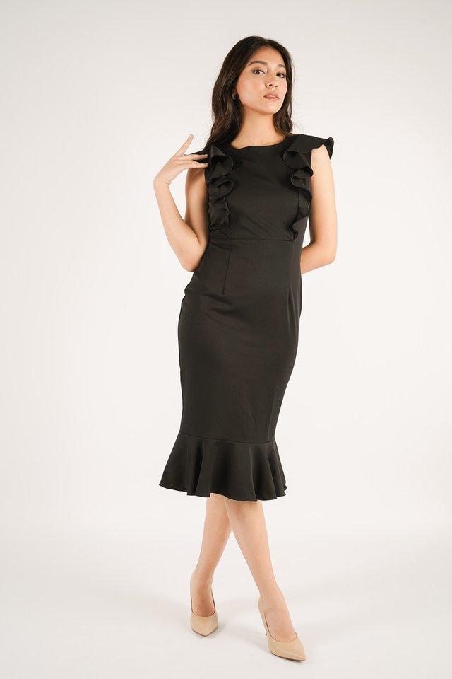 Phoebe Ruffles Dress
