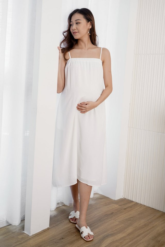 Heather Midi Maternity Dress