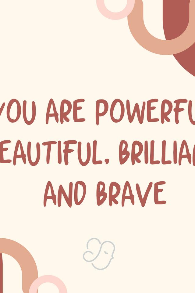Alexiz Greeting Card - You are Powerful