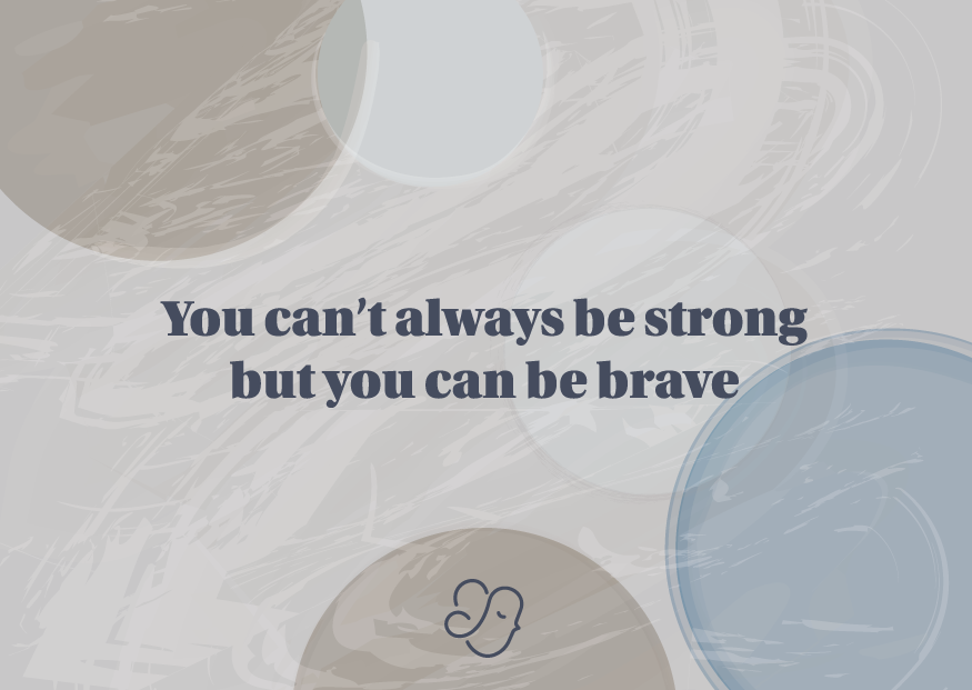 Alexiz Greeting Card - Be Strong