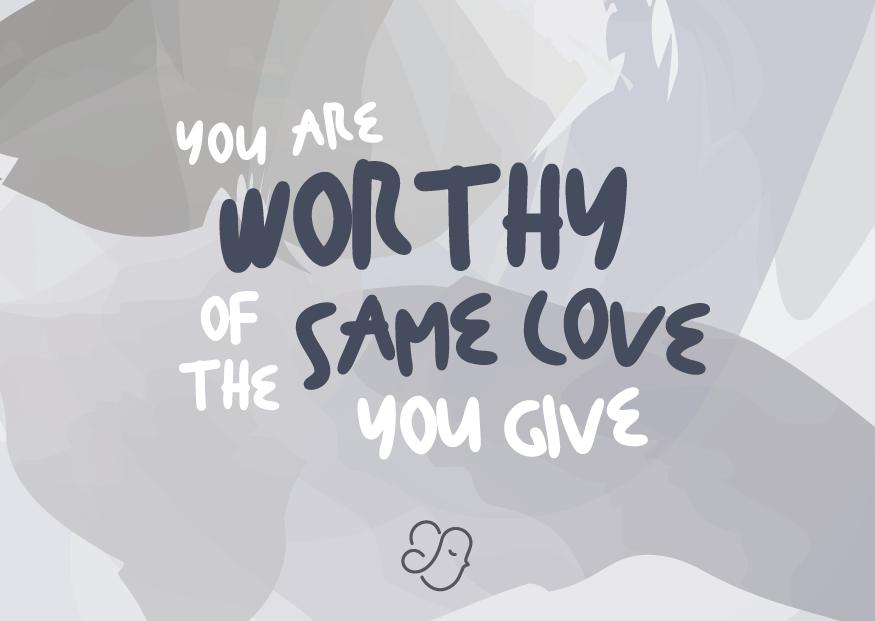Alexiz Greeting Card - Worthy Love