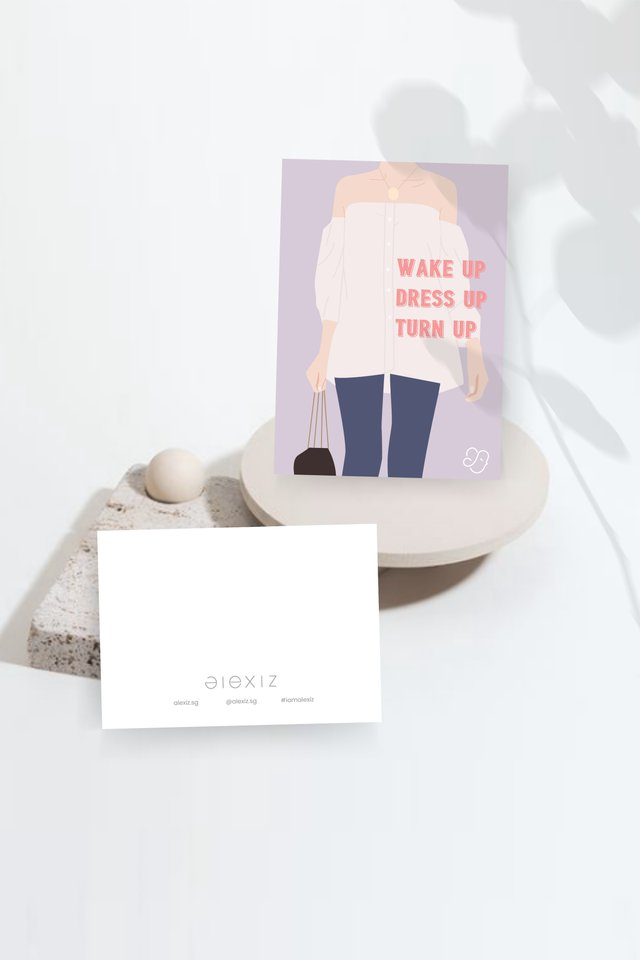 Alexiz Greeting Card Set of 3 - Superwoman