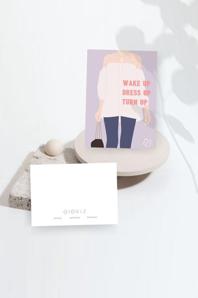 Alexiz Greeting Card - Wake up